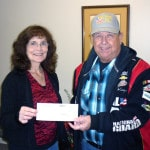 Cancer Association of Darke County receives donation from Versailles Eagles