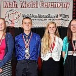 Darke County high school seniors receive Honda-Ohio State Math Medal Award