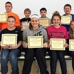 Arcanum-Butler Middle School Students of the Month