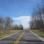 No-passing zone study maps county roads