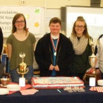 GHS Supply Chain Management team celebrates state victory
