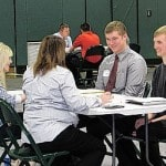 Career fair connects seniors to real job opportunities