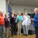 New officers for PERI group sworn in