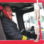 McDermitt rides home after 32 years with Greenville FD