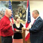 McRill takes oath for Greenville PD