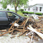 County cleans up after storm