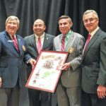 Mehaffie inducted into Association of Ohio Commodores