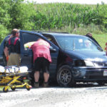 Bradford woman airlifted from accident