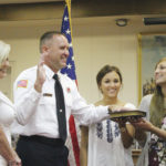 City swears in new fire chief