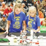 Students compete in LEGO robot competition