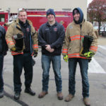 Local firefighters give back