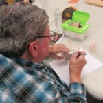 Local woodcarver shares skills with community