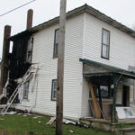 Fire causes extensive house damage