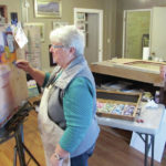 Painting in the 'plein air'