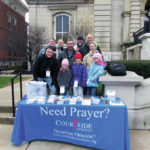 Courtside Ministries offers prayers to people in need