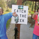 Fishing event focuses on healthy lifestyle