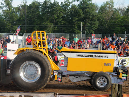 The 10th annual Ohio State Benefit Pull began on Friday night at York Woods.