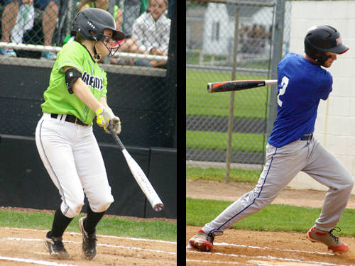 Greenville's Karsyn Shaffer has been named The Daily Advocate's softball player of the year, and Tri-Village's Jonny Wilson has been named The Daily Advocate's baseball player of the year.