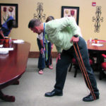 Lunch and Learn: Exercises can benefit prolonged sitting