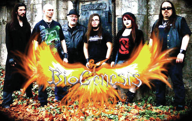 BioGenesis, a Christian heavy metal band, will represent Ohio and Darke County in front of mass audiences, in California, next month. Dan Nealeigh is owner of D.A. Music Studios, in downtown Greenville and Bass player for BioGenesis. Dan and his children: Luke, Lead Guitar; Majennica, Drums and Sam, Keyboard, make up the majority of the band. The other members include: Chaz Bond, Vocals, of Columbus, and James Riggs, Rhythm Guitar, of Greenville.