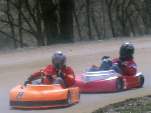 Little Eldora held its Red/White/Blue Chase and Junior Spotlight on Sunday.
