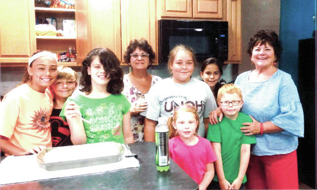 The Greenville Boys and Girls Club enjoyed a recent cooking class with their friends from Colorado Sarah and Melanie Taylor.