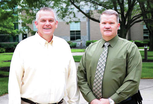 Following an extensive search, Edison State Community College is pleased to welcome Dr. Paul Heintz, Jr. (left) as Dean of Arts and Sciences and Dr. Tony Human as Dean of Professional and Technical Programs to the College's academic leadership team.