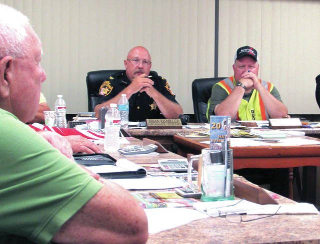 A Darke County Fair Safety Plan came together at the Fair Safety Committee meeting July 6 at the fairgrounds, led by Darke County Sheriff's Office Chief Deputy Mark Whittaker.