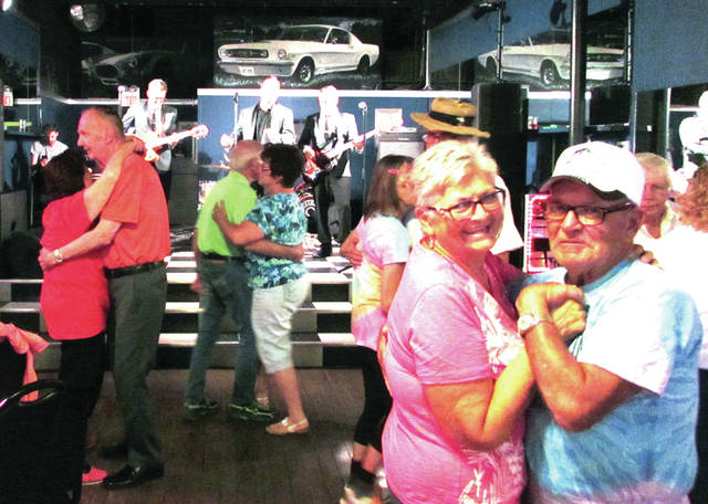 """The American Kings, of Dayton, played at The Bistro Off Broadway during """"Memories on Main"""", Main Street Greenville's July 7 First Friday event. The show helped pack the house and had folks hopping to their favorite rock 'n' roll numbers."""