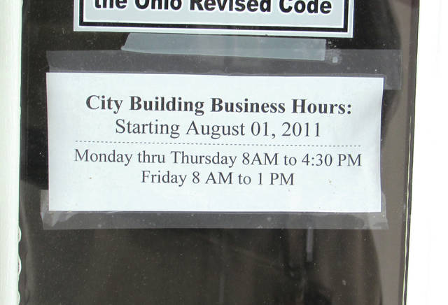A proposal to extend Greenville City Building's open hours on Fridays to 4:30 p.m. received a thumbs-down from the city's Personnel and Public Relations Committee. Council will hear the committee's report August 1.