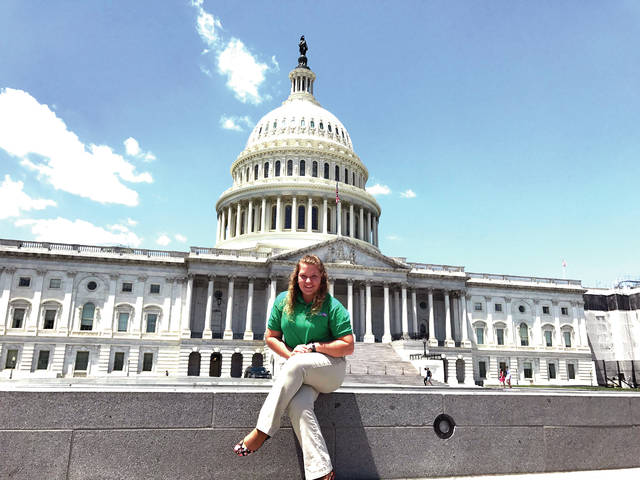Molly Hunt, of Greenville, was the Darke County 4-H delegate chosen to attend Citizen Washington Focus, in Washington, D.C. last month.