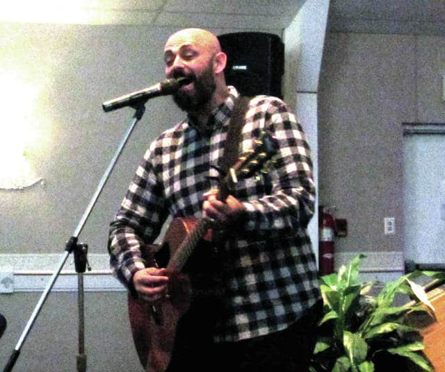 """Internationally-acclaimed, sixth season finalist of """"American Idol"""" and Christian recording artist Phil Stacey performed at First Assembly of God, in Greenville, Ohio, July 25. """"I am very grateful that the pastor opened the doors for me,"""" Stacey said."""