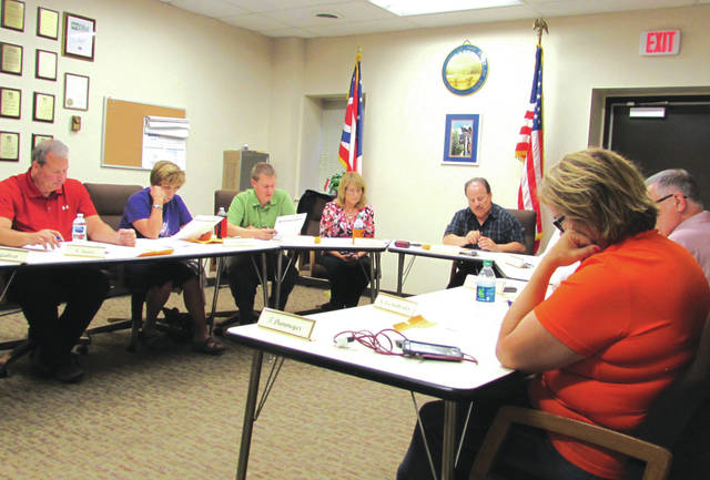 Versailles Village Council (shown) heard from the village's Fire, Police and EMS heads during its Wednesday night meeting regarding the proposed Darke County Communications Levy. As well, council received a report recommending an increase in water and sewer rates.
