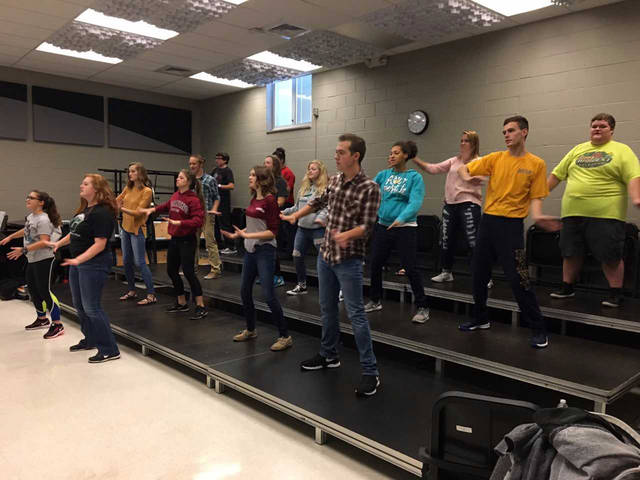 """Courtesy photo Greenville High School Vocal Music students are getting ready for their annual Fall Concert, """"The Magical Music of Disney,"""" on Monday, October 16, at 7 p.m. at Memorial Hall."""