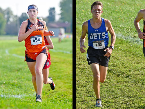 Bradford girls cross country runner Skipp Miller and Franklin Monroe boys cross country runner Cole Good have been named this week's Daily Advocate athletes of the week. To nominate a Darke County athlete for athlete of the week, contact Sports Editor Kyle Shaner at 937-569-4316 or kshaner@dailyadvocate.com.