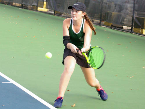 Greenville sophomore Natalie Milligan will compete in singles at the Ohio High School Athletic Association district tournament in Mason.