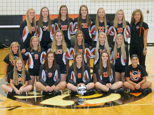 The Versailles volleyball team has qualified for the Ohio High School Athletic Association regional tournament for the fifth consecutive season.