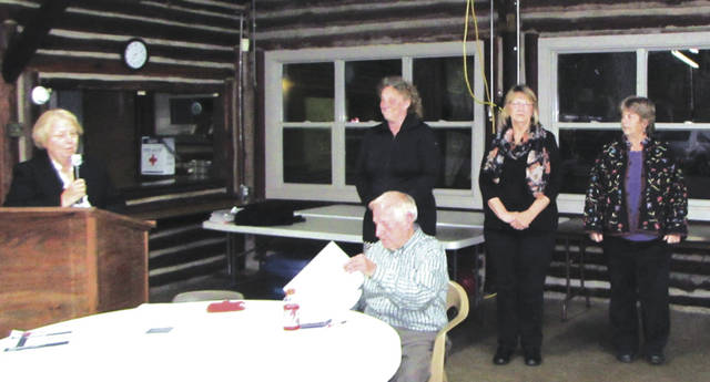 Candidates for the Village of Wayne Lakes Council are from left to right: Melissa J. Capps, Karen A. Sink and Joan Falknor.
