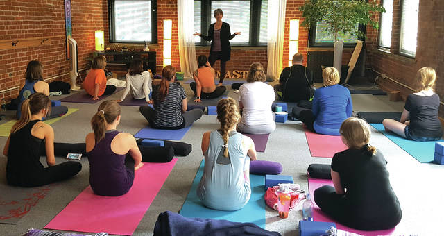 Tyeis Baker-Baumann started her nonprofit group The Good Stuff Foundation to provide yoga classes, meditation and mindfulness training, and other services to members of the community who might not otherwise have access.