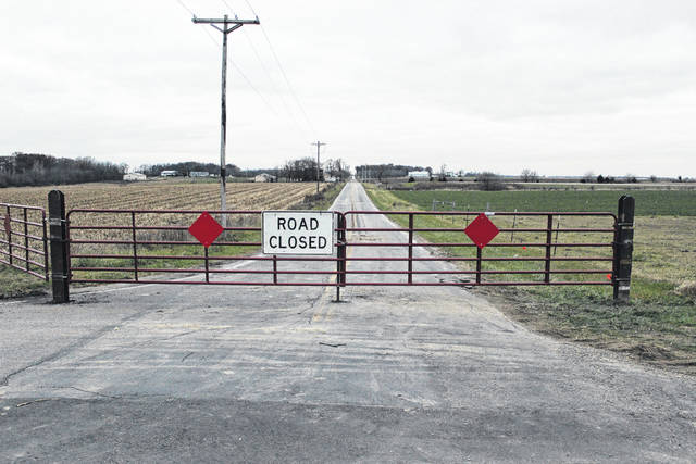 This section of Old State Route 242, stretching north 1105 feet from the intersection with Chase and Horner Rd in Richland Township, has been permanently closed after being transferred from state to county control as part of an agreement with the Ohio Department of Transportation.
