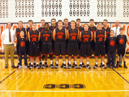 The Arcanum boys basketball team has a deep roster filled with versatile players.