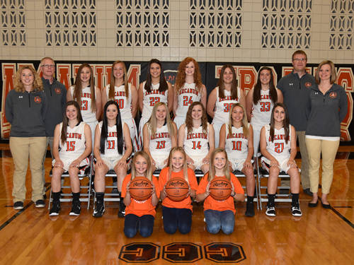 The Arcanum girls basketball team returns five players from last year's district runner-up squad.