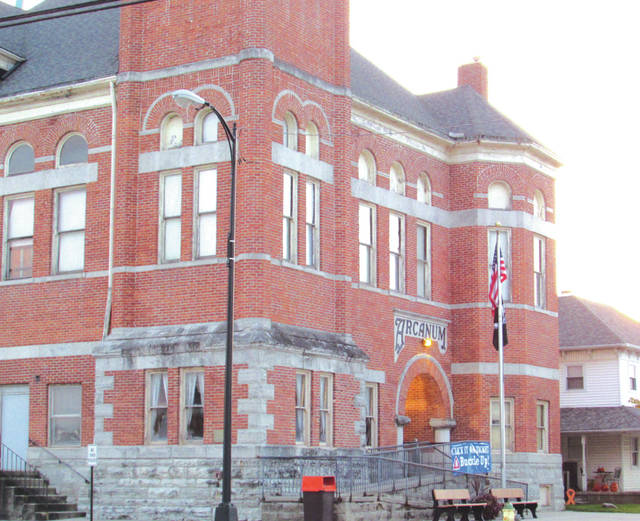 The Arcanum Village Building, which house the town's administration and police department, will be evacuated due to a bat droppings in its upper floors. One estimate says it will cost almost a quarter of a million dollars to fix the situation, with no guarantees the issue will not reoccur.