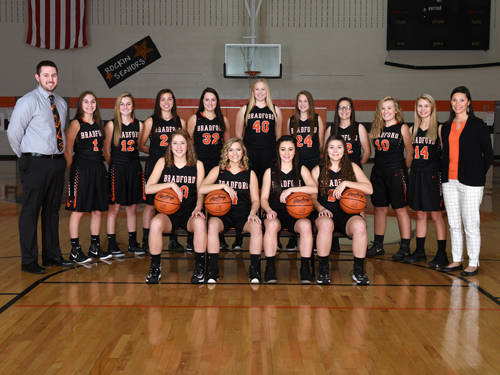 The Bradford girls basketball team returns just two starters from last year's team and will rely on unselfish play this season.