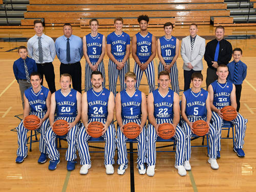 After finishing as the league runner-up last year, the Franklin Monroe boys basketball team will look to contend in the Cross County Conference again this season.