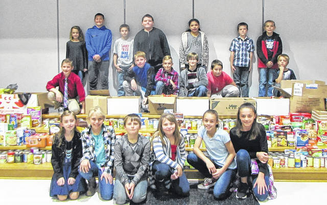 Mississinawa Valley Schools hosted its Veterans Day Program, Friday, November 10. Students collected more than $1,200 and more than 1,500 food items to donate to The Journey Home, in Winchester, Indiana, in honor of the veterans. The Journey Home is a program that transitions homeless veterans off the streets or out from under bridges into permanent housing, treatment and appropriate employment, according to its website.