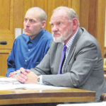 Two sentenced for theft, weapon