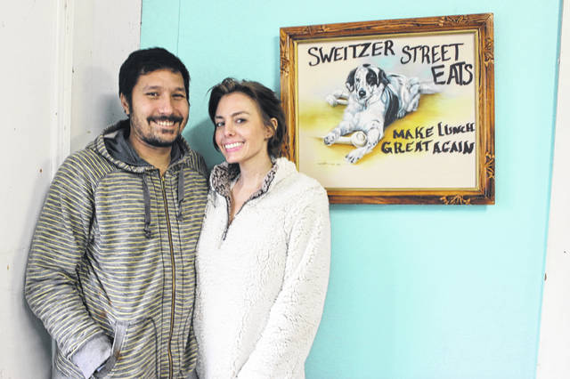 Vince Hamilton and Jessica Hunken opened Sweitzer St. Eats in early November. Hamilton grew up in Darke County, and is the son of local food truck owner Tennessie Hamilton.