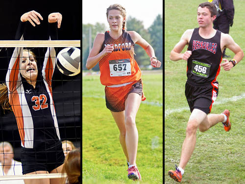 Versailles' Danielle Winner has been named The Daily Advocate's volleyball player of the year, Bradford's Karmen Knepp has been named The Daily Advocate's girls cross country runner of the year, and Versailles' Joe Spitzer has been named The Daily Advocate's boys cross country runner of the year.