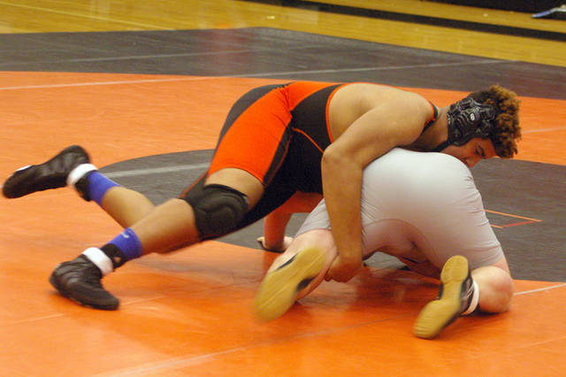 Arcanum wrestling team defeats National Trail, loses to ...